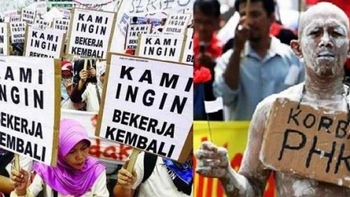 Tanpa UU Cipta Kerja, Gelombang PHK Terus Menimpa Indonesia