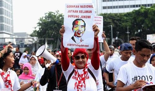 Relawan Jokowi Disebut Tidak Punya Pengaruh Besar di Pilpres 2024