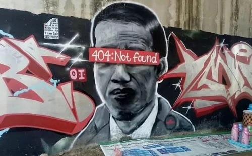 Kritik Mural, Ketakutan bagi Polisi atau Presiden?
